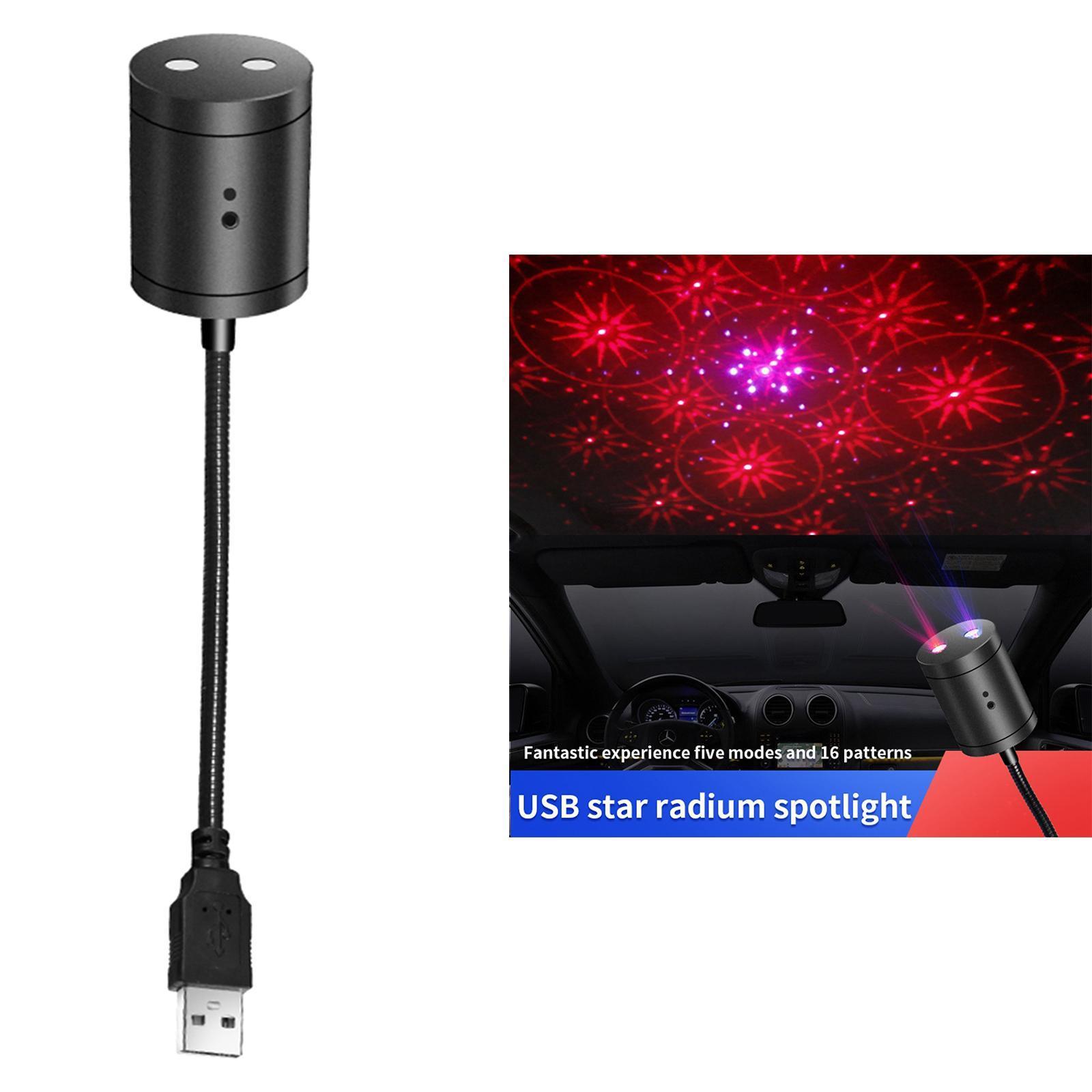 Proiettore-della-stella-Della-Luce-di-Notte-USB-Luce-di-Notte-Luci-Interne miniatura 9