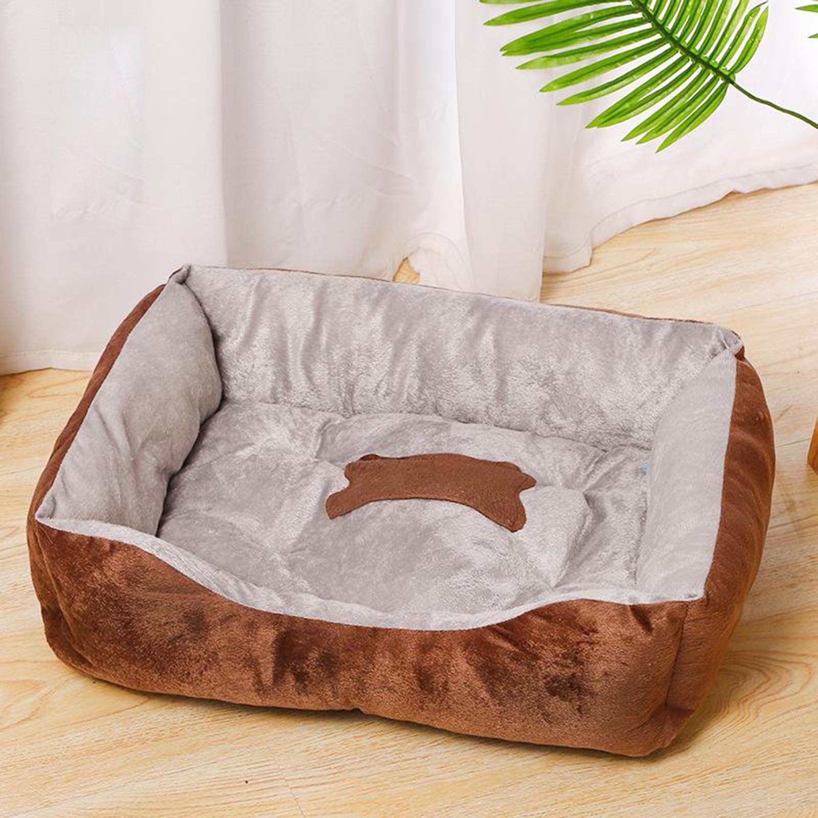 Indexbild 34 - Katze-Hund-Bett-Pet-Kissen-Betten-Haus-Schlaf-Soft-Warmen-Zwinger-Decke-Nest