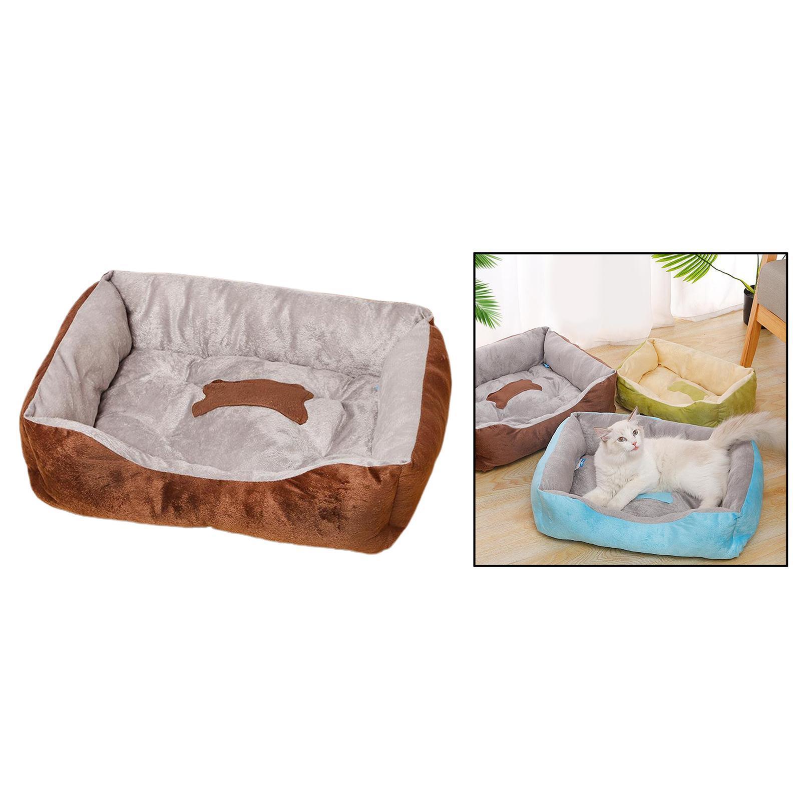 Indexbild 32 - Katze-Hund-Bett-Pet-Kissen-Betten-Haus-Schlaf-Soft-Warmen-Zwinger-Decke-Nest