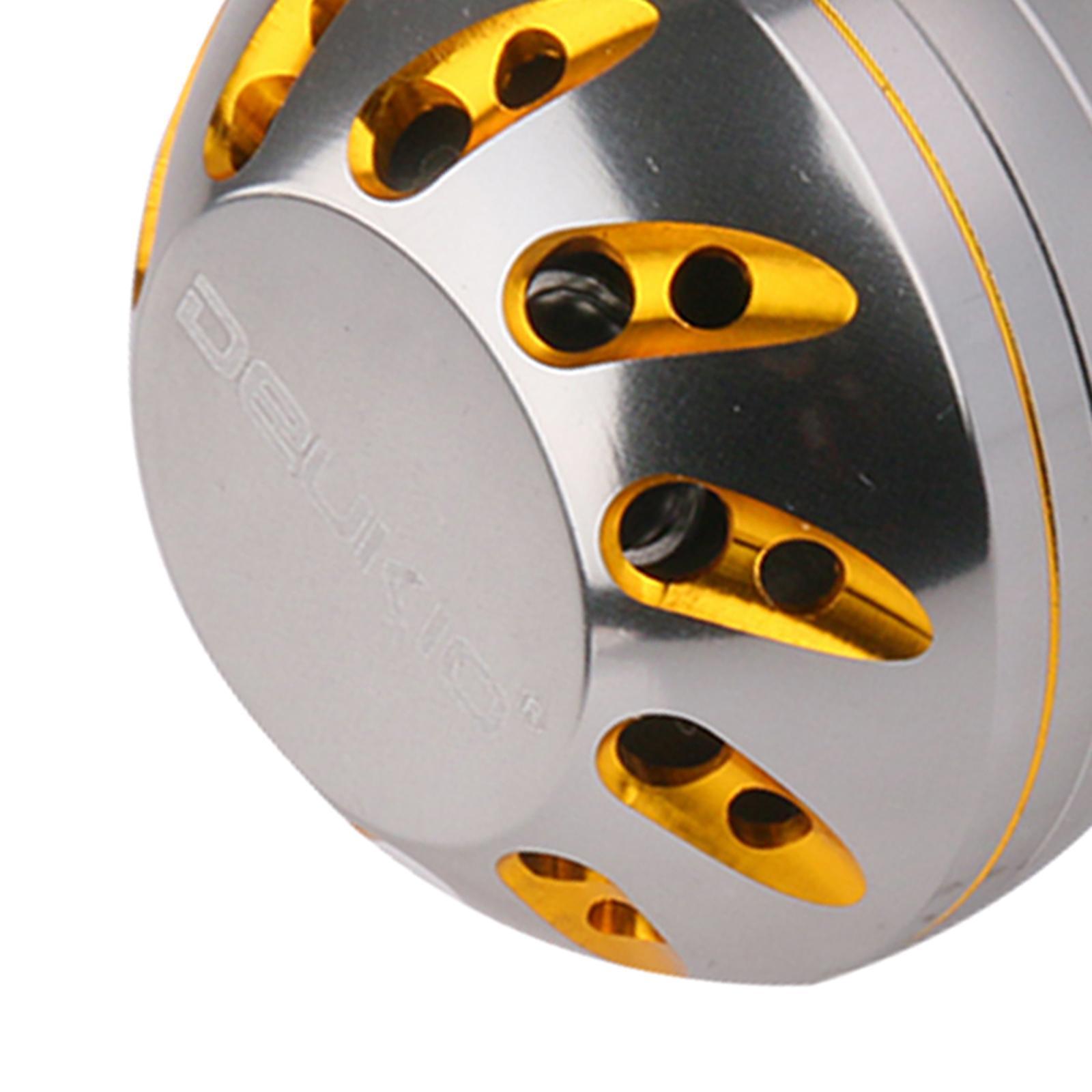 Full Metal Fishing Reel Handle Power Knob w// 2 Ball Bearings 45mm Fishing Tackle