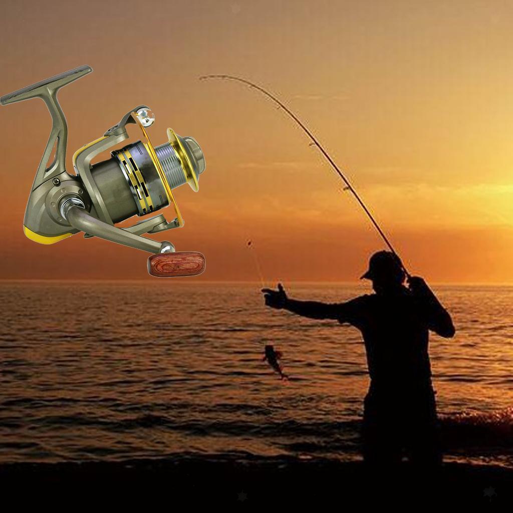 Fishing Line Wheel 17+1BB FBE2000-7000 Metal Spinning Reel Fishing Tackle