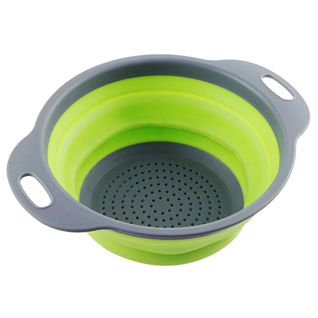 miniatura 12 - Utensili da cucina per la casa, scolapasta / colino / cestello pieghevole in