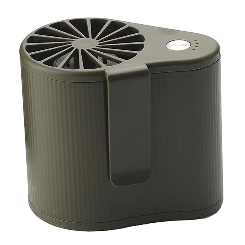 Taille-Suspendue-Mini-Fan-Ventilateur-De-Refroidissement-Portable-5V-1000RPM miniature 6