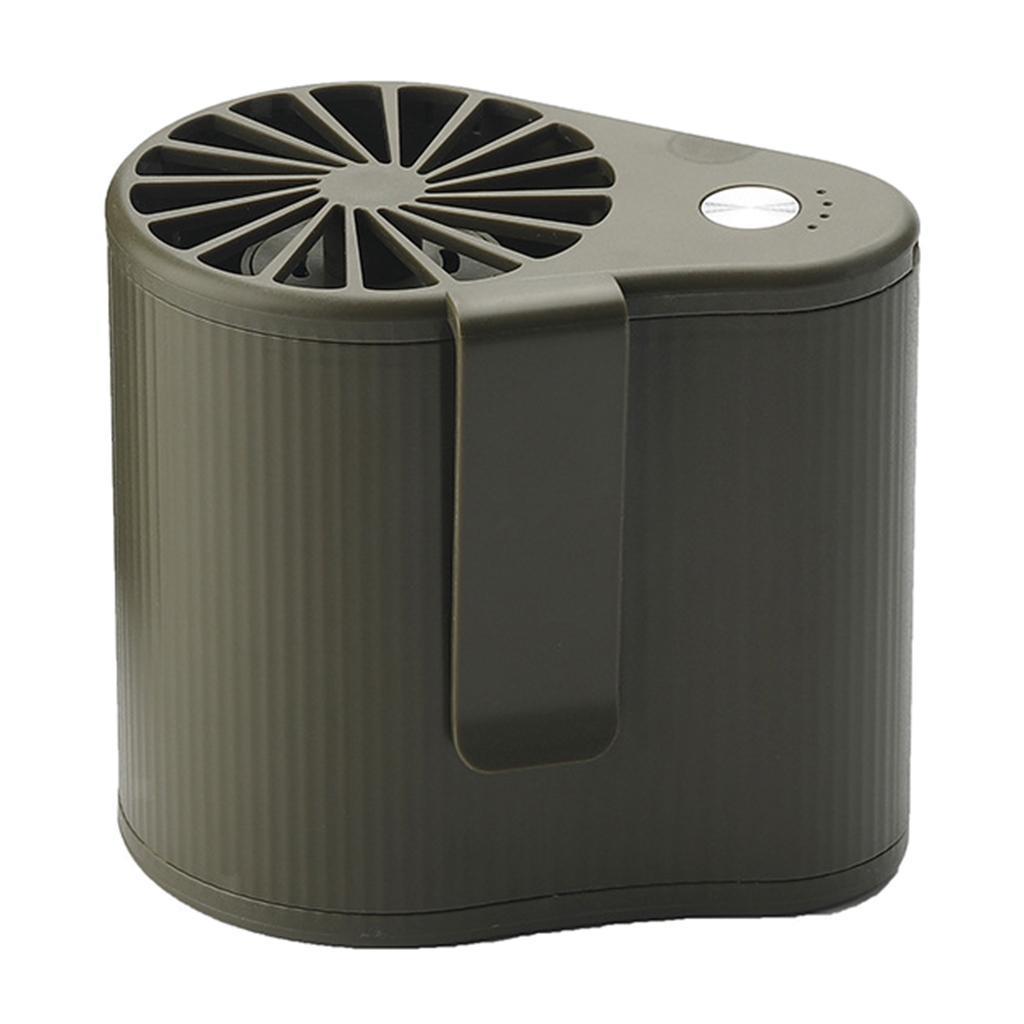Taille-Suspendue-Mini-Fan-Ventilateur-De-Refroidissement-Portable-5V-1000RPM miniature 7
