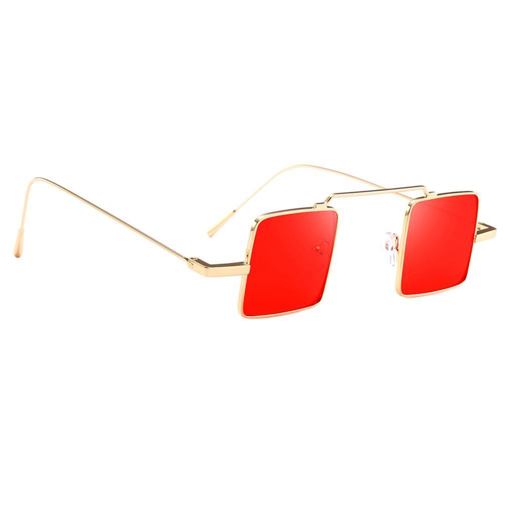 Klassische-quadratisches-Design-Sonnenbrille-mit-UV400-Schutz Indexbild 7