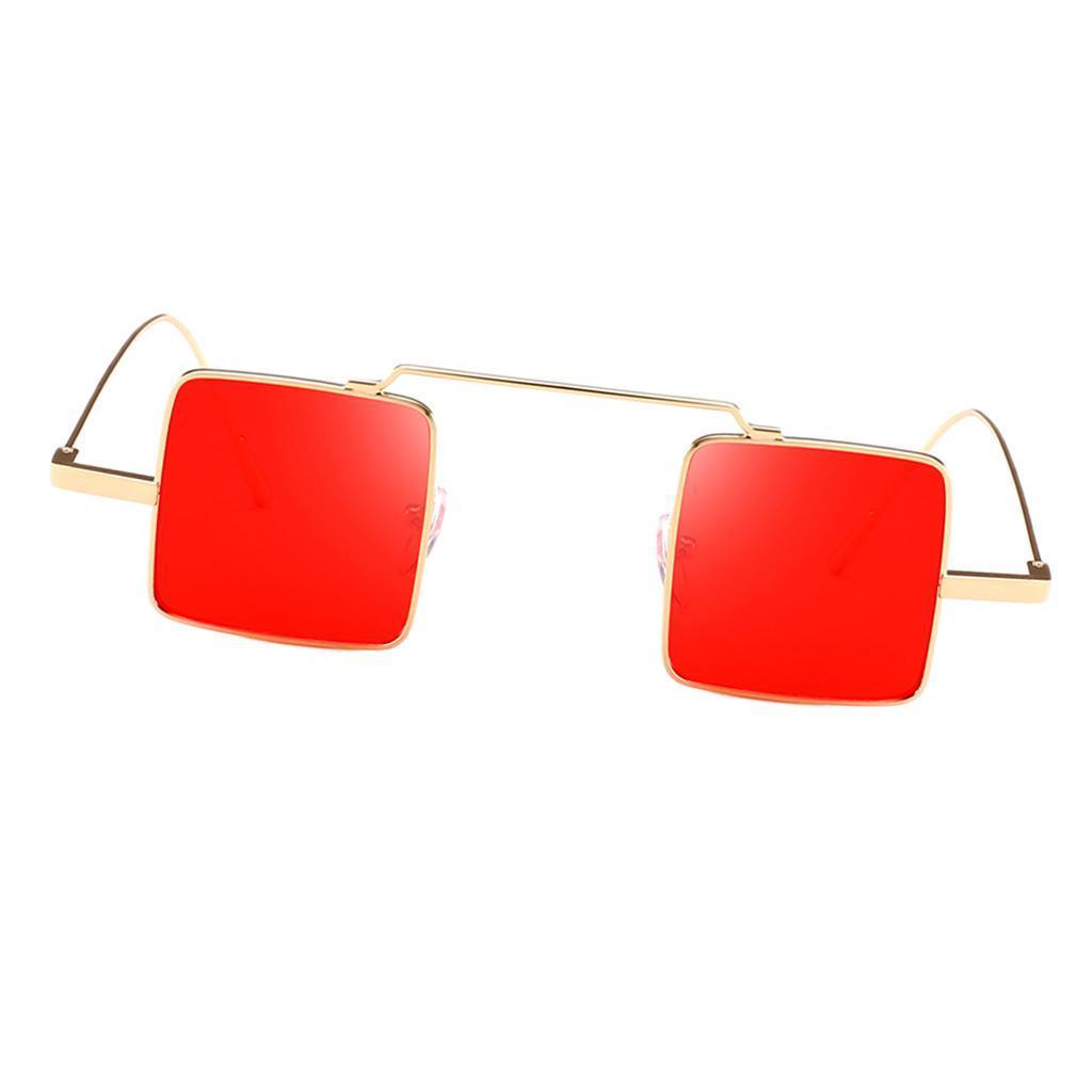 Klassische-quadratisches-Design-Sonnenbrille-mit-UV400-Schutz Indexbild 6