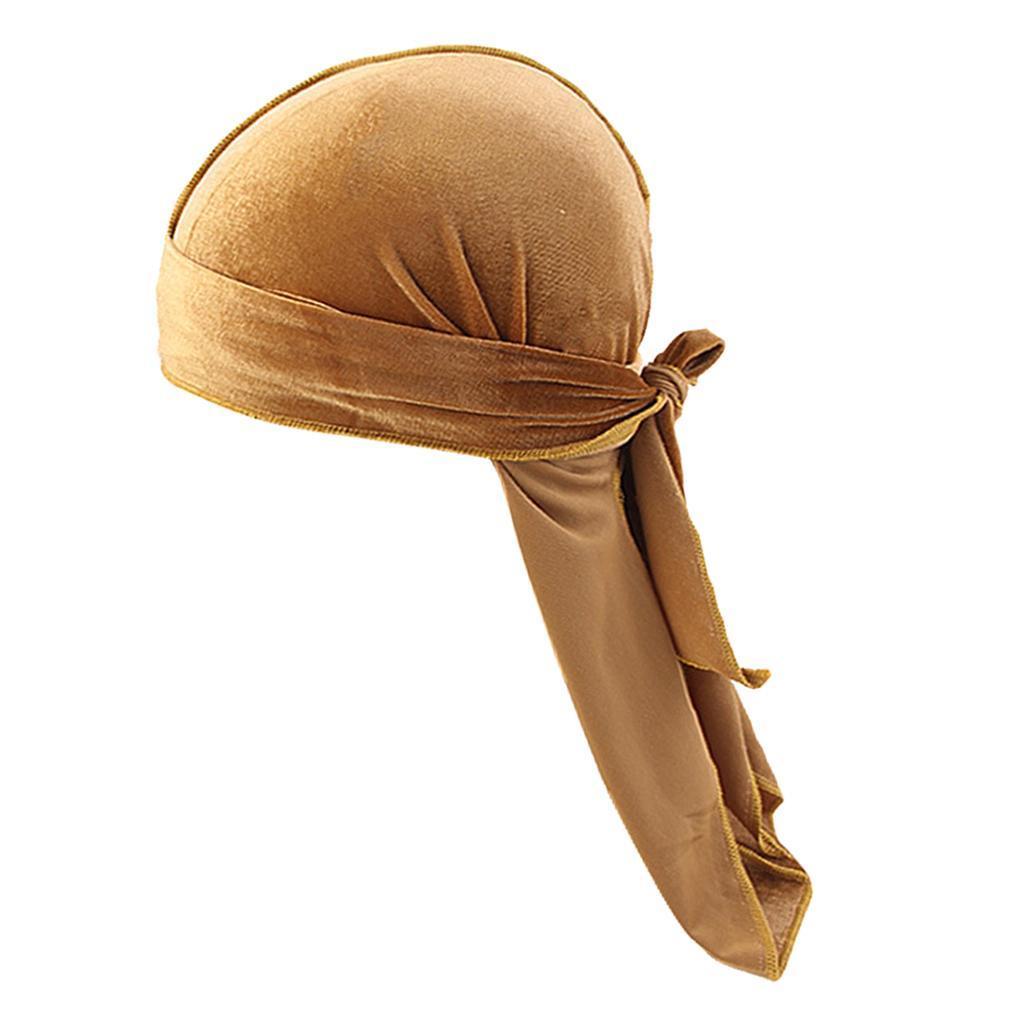 Damen Herren Kopftuch Seide Bandana Kopfbedeckung Chemo Strand Tuch Turban