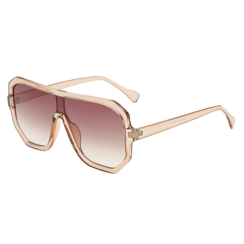 Frauen-Herren-Vintage-Style-Rechteck-Sonnenbrille-UV400-Flat-Top-Fashion Indexbild 21
