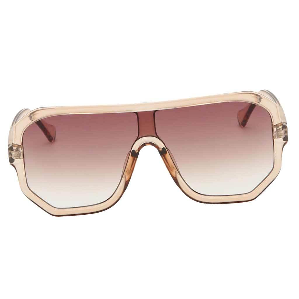 Frauen-Herren-Vintage-Style-Rechteck-Sonnenbrille-UV400-Flat-Top-Fashion Indexbild 22