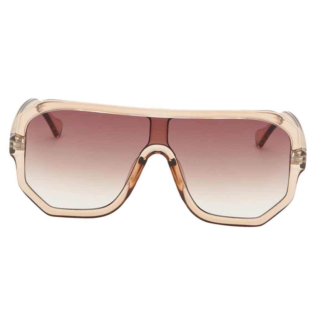 Frauen-Herren-Vintage-Style-Rechteck-Sonnenbrille-UV400-Flat-Top-Fashion Indexbild 23