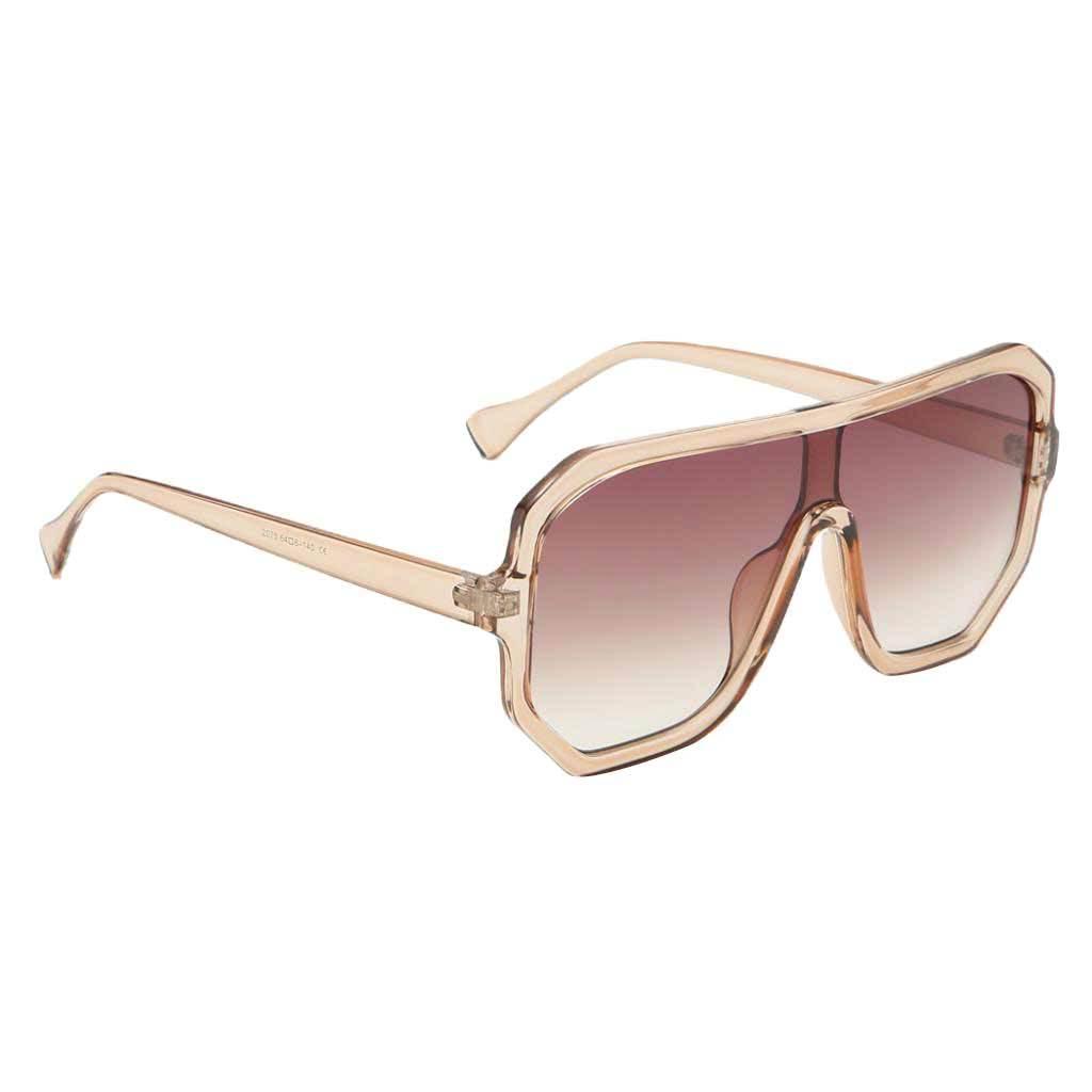 Frauen-Herren-Vintage-Style-Rechteck-Sonnenbrille-UV400-Flat-Top-Fashion Indexbild 24