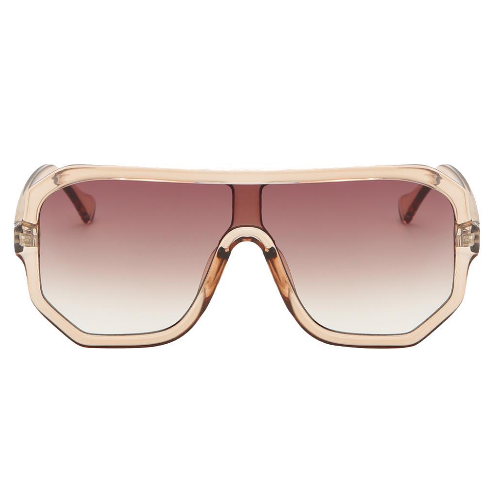 Frauen-Herren-Vintage-Style-Rechteck-Sonnenbrille-UV400-Flat-Top-Fashion Indexbild 20