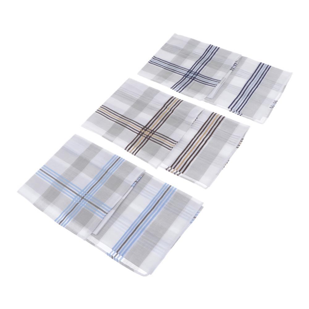9 Stück Baumwolltaschentücher Classic Plaid Pocket Taschentuch Taschentücher