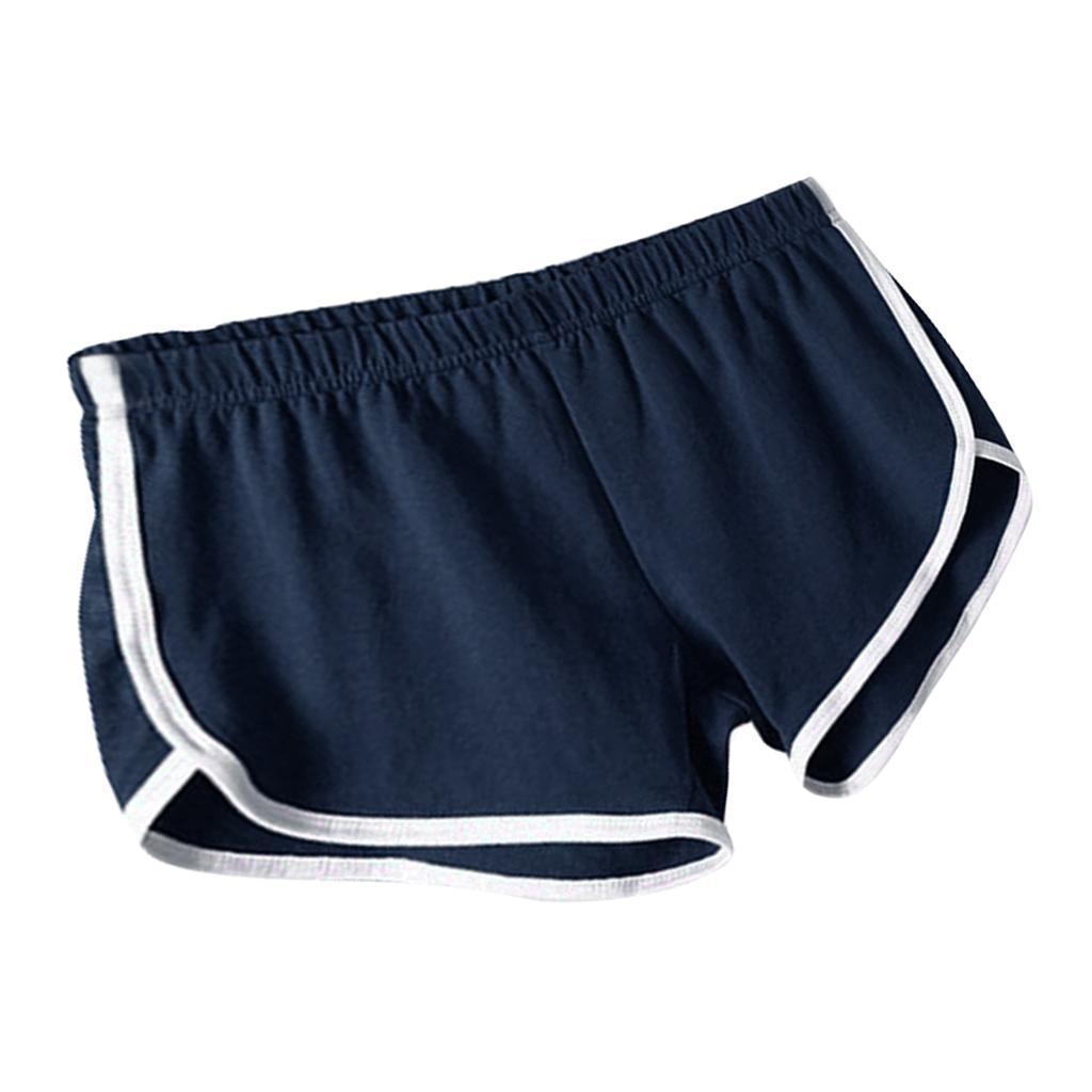 Shorts-de-sport-en-soie-de-lait-pour-femmes-Yoga-Dance-Pantalons-courts-Shorts miniature 23