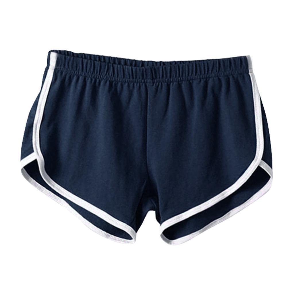 Shorts-de-sport-en-soie-de-lait-pour-femmes-Yoga-Dance-Pantalons-courts-Shorts miniature 22