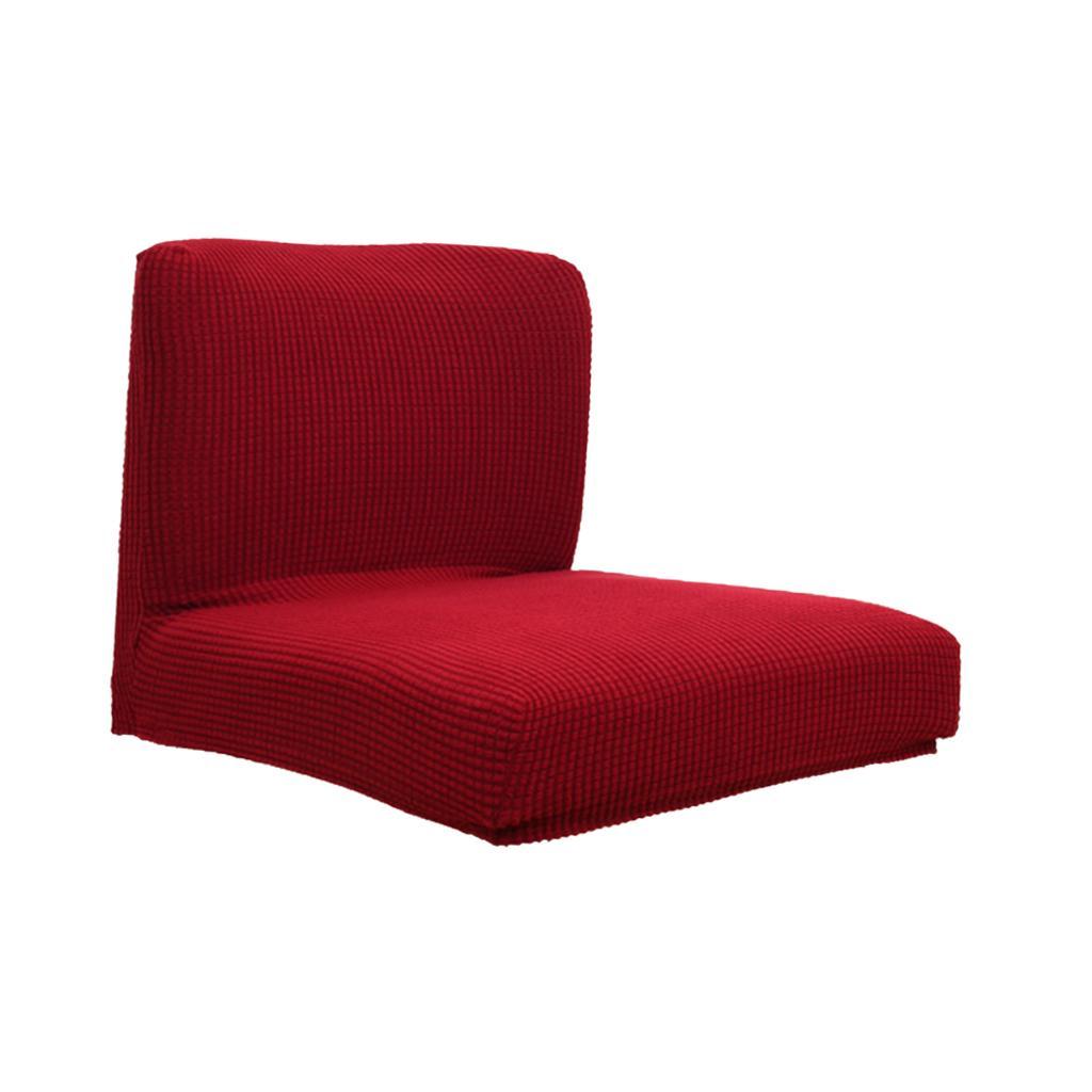 Stretch silla de comedor ya referencia mostrador funda protectora burdeos