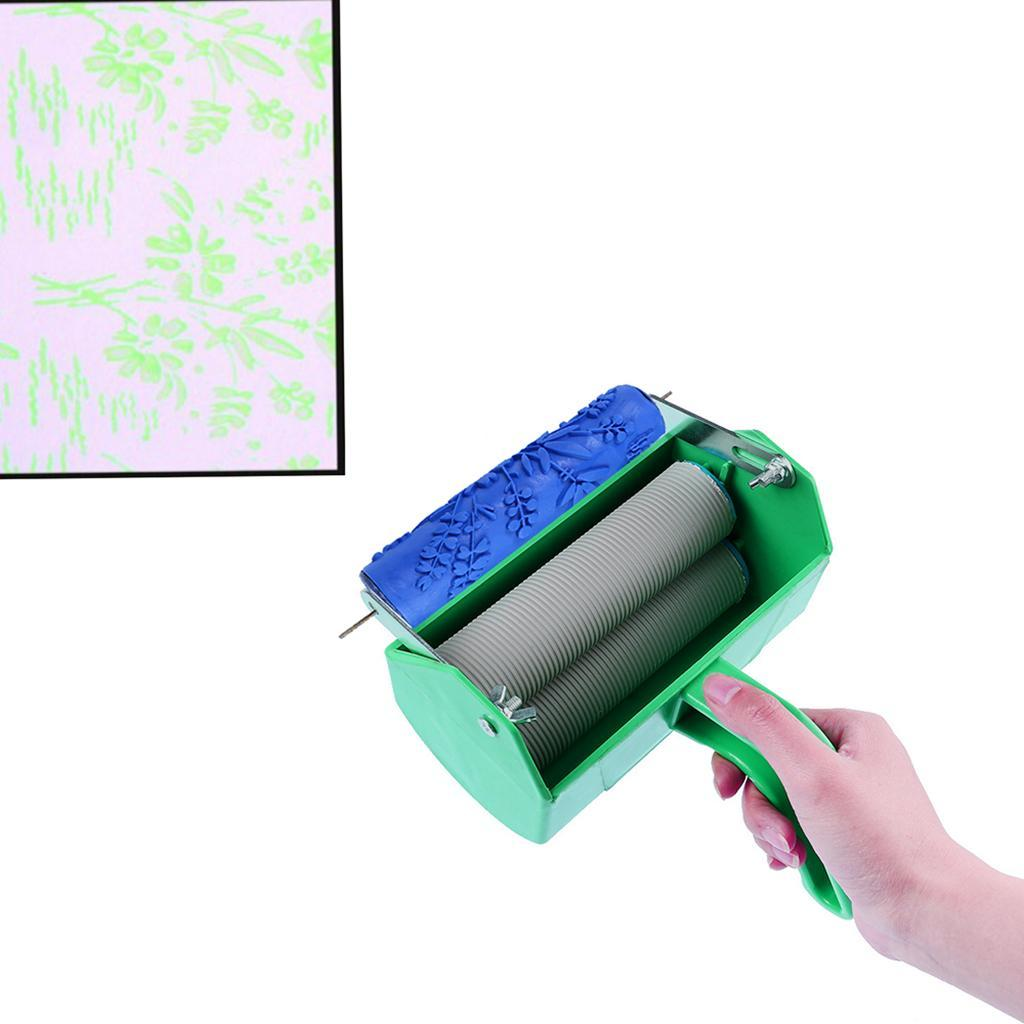 Durable Wall Texture Roller DIY Patterned Paint Rollers ...