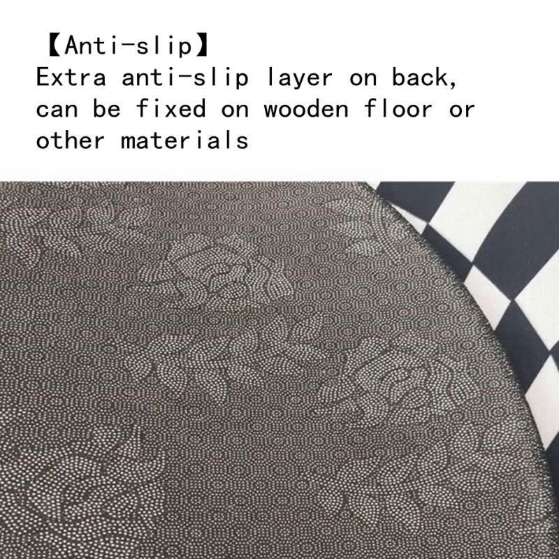 Tappeti-rettangolari-3D-Illusion-Tappetini-per-camera-da-letto-Vortex-Tappeti miniatura 7