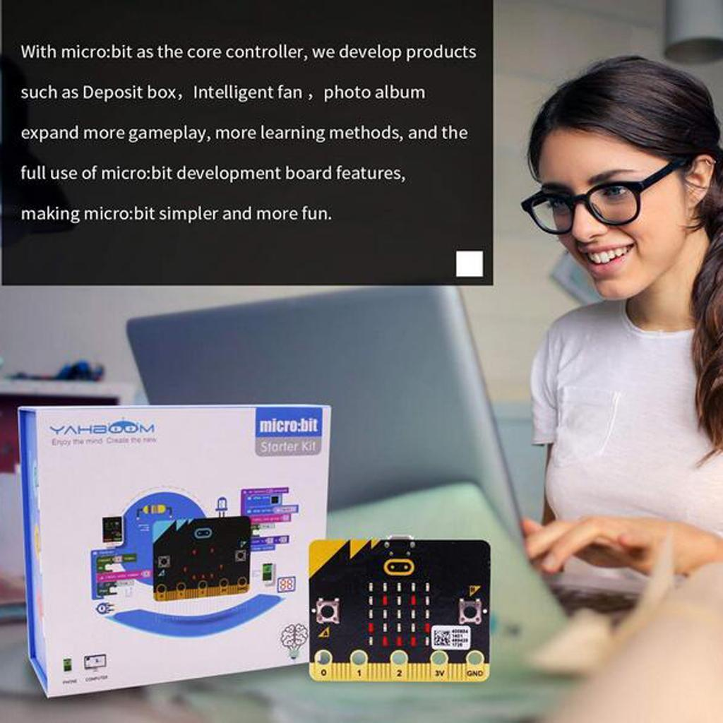 Yahboom-BBC-Micro-bit-MicroBit-Go-Starter-Kit-Contains-23-Experiment-Courses thumbnail 3