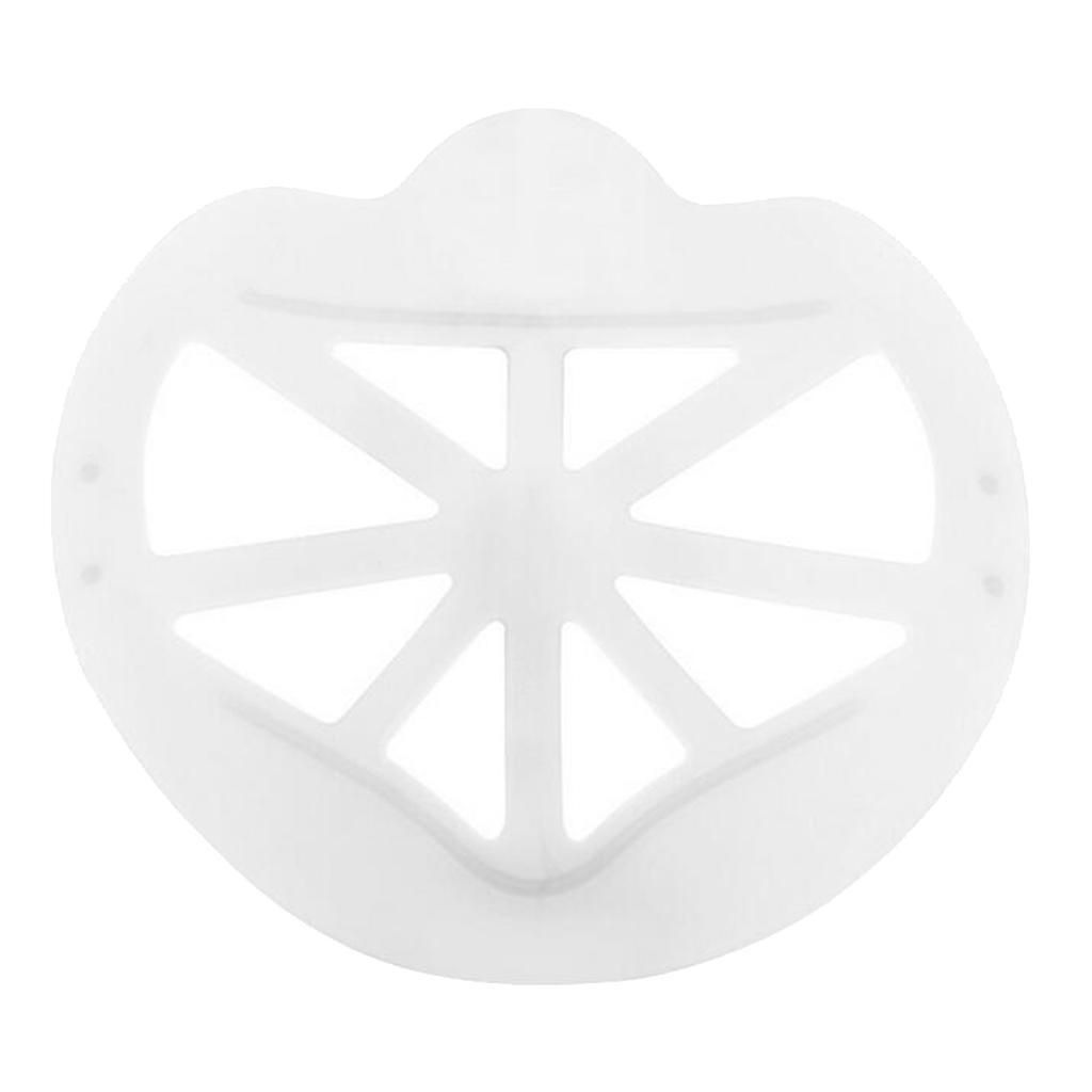 Indexbild 6 - Unisex Wiederverwendbarer 3D-Maskenstützrahmen Cooler Atmungsaktiver