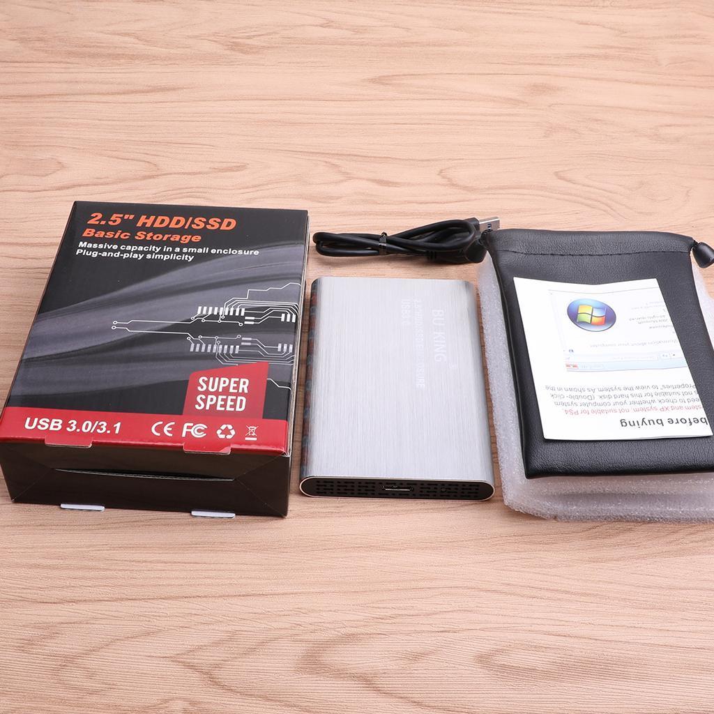 2-5-in-External-SATA-3-0-USB-3-0-Hard-Drive-Disk-HDD-SSD-Enclosure-Case thumbnail 16