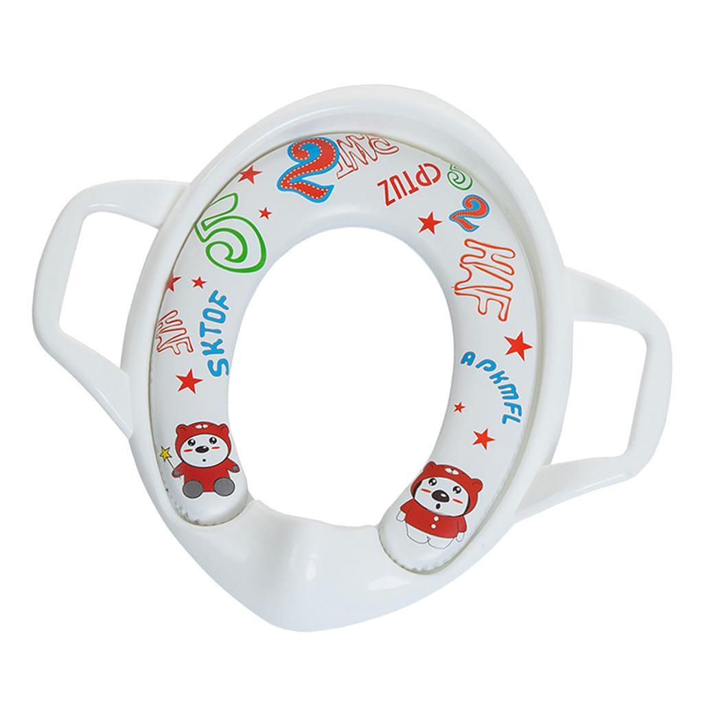 Indexbild 7 - Kindersitz Kinder Kleinkind mit Griff Toilette Soft Pad Kissen