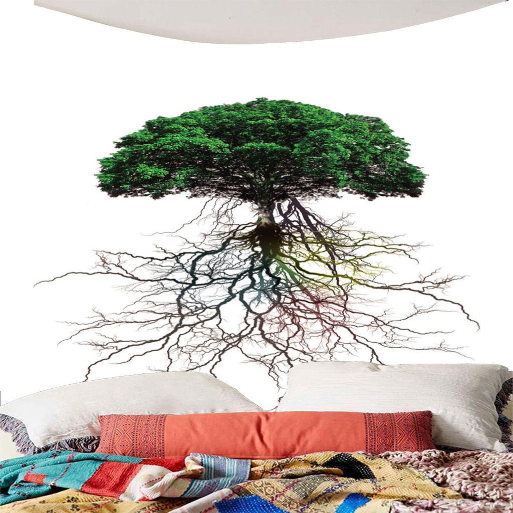 3D-Arazzo-Parete-Impermeabile-Decorativi-Interni-Esterni-Telo-Mare-Poliestere miniatura 18