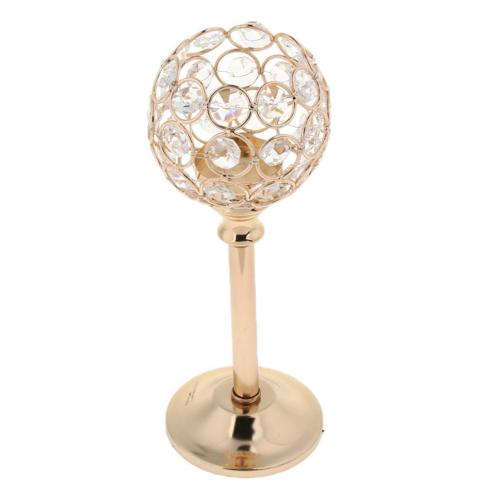Porte-bougie-En-Cristal-Mosaique-Supporte-de-Bougie-pour-Fete-Decoration miniature 54