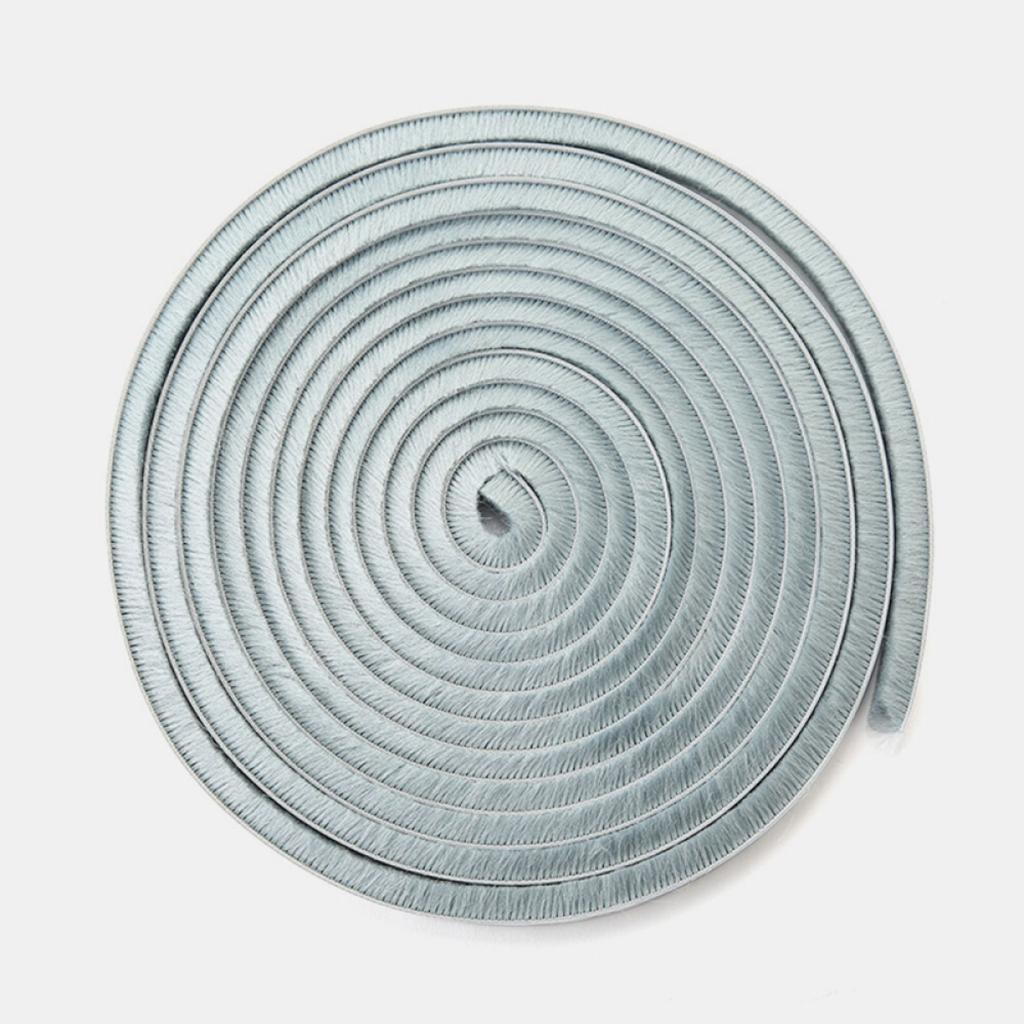 PETSOLA Window Door Sealing Tape Strip Insulation Soundproofing Weatherstrip Gap Blocker 9x9mm