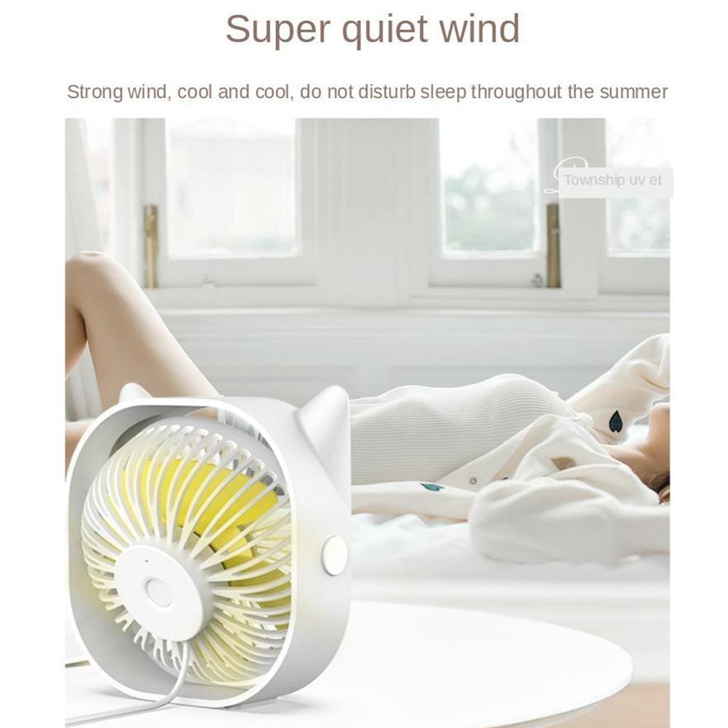 miniature 9 - Flux-d-039-air-puissant-Fonctionnement-silencieux-Vitesse-du-ventilateur-portable
