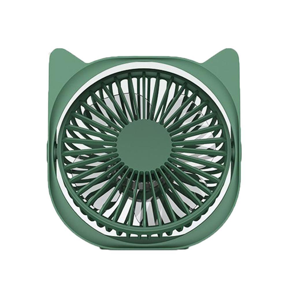 Mini-Ventilateur-electrique-Portatif-Silencieux-De-Rotation-De-360-Degres-De miniature 9