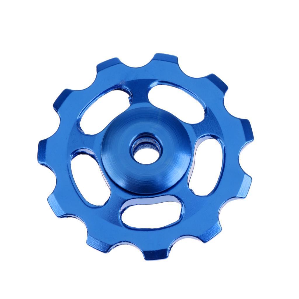 11T-MTB-Bike-Cycle-Aluminum-Alloy-Bearings-Jockey-Wheel-Rear-Derailleur-Pulleys thumbnail 7