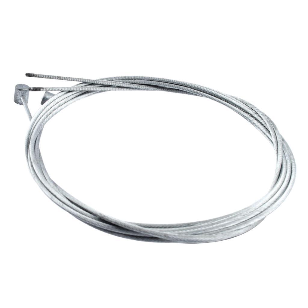 2pcs-Vtt-Route-Cable-De-Frein-Velo-Surface-galvanisee-antirouille miniature 4