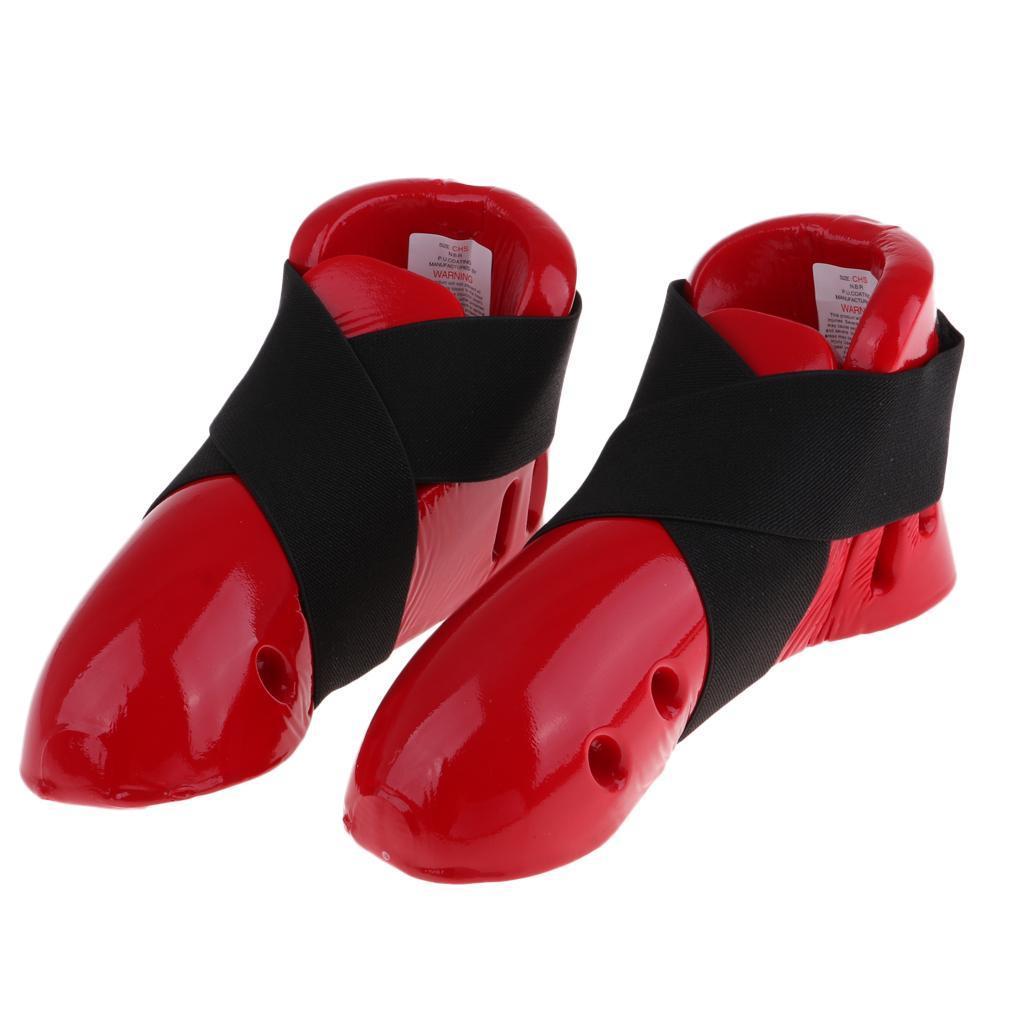 Indexbild 13 - Foam Pad Kids Taekwondo Fußschutz Karate Sparring Feet Protector Footgear