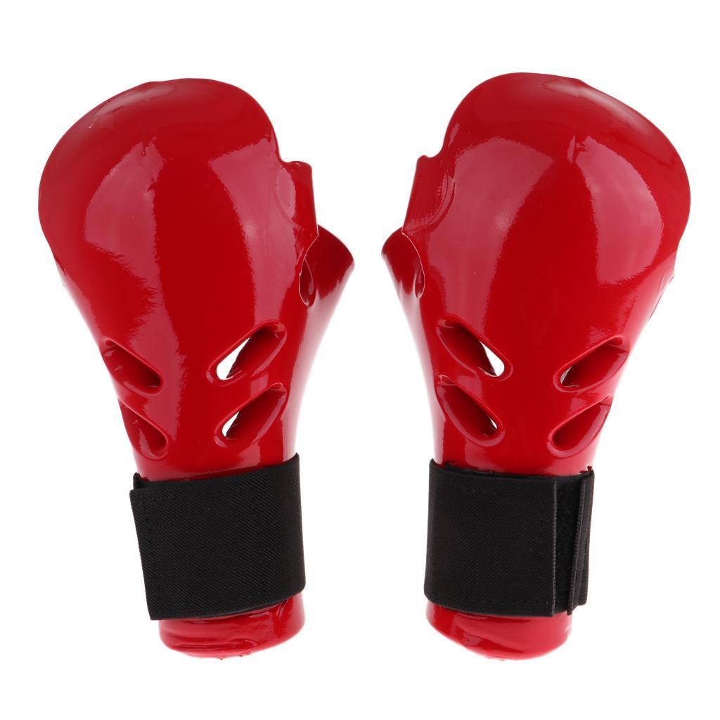 Indexbild 10 - Kinder Taekwondo Handschuhe Kampfsport Sparring TKD Grappling MMA Protector