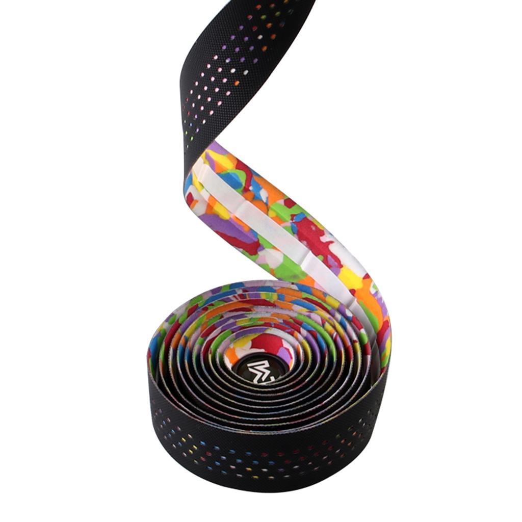 2 Rolls 6.8ft Bike Handlebar Tape Wrap Bicycle Handle Bar Fishing Rod Grip