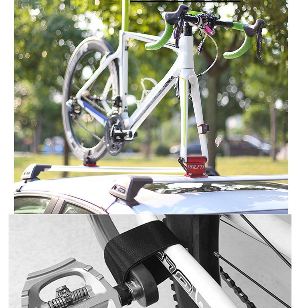 Car Roof Rack Bike Carrier Bicycle Travel Rooftop Rack Mount Holder Kit Set Ebay