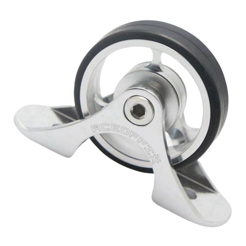 Bike Mudguard Wheel Bike Easy Wheels für Brompton Modification Refit Roller