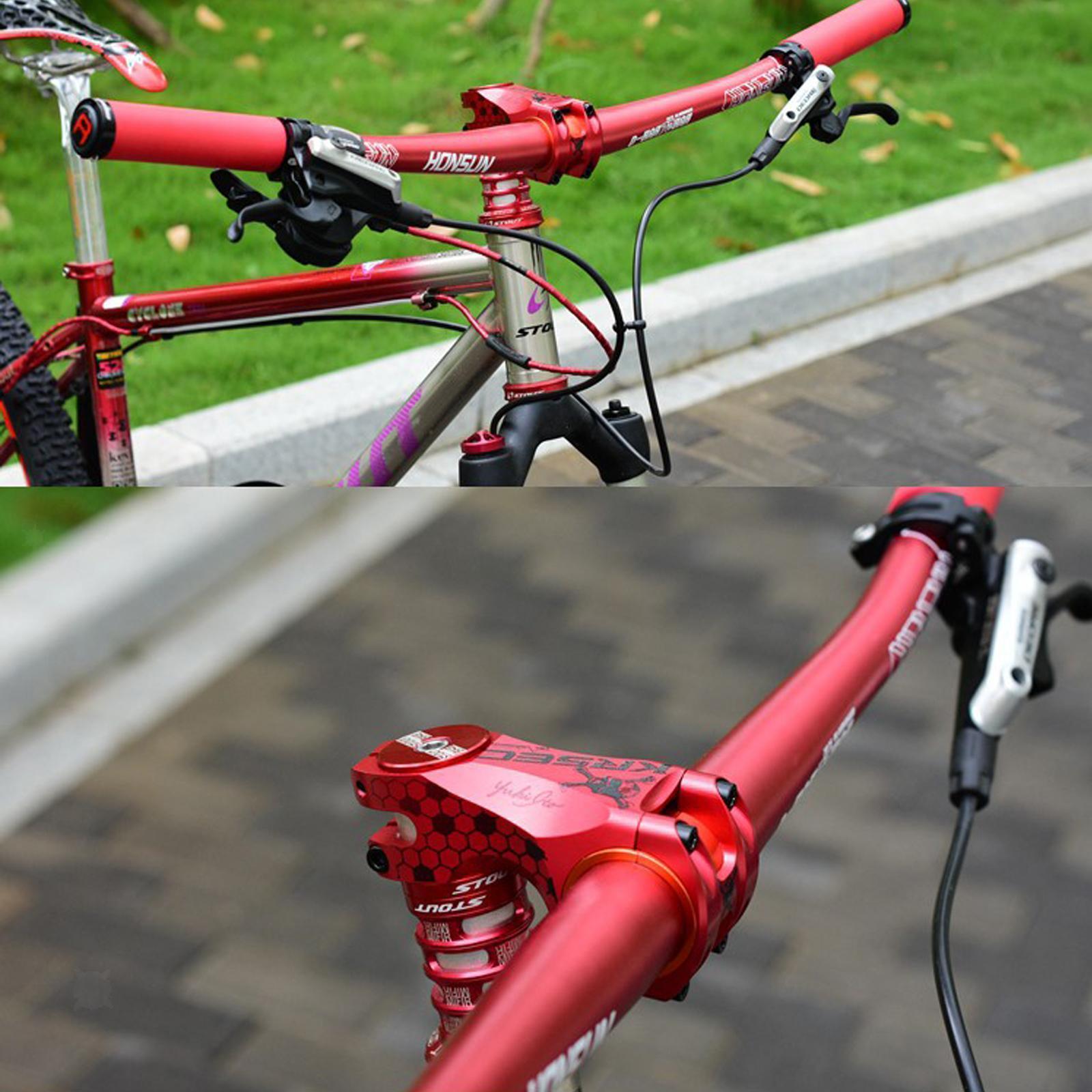 Bike Stem Fixed Gear Cycling Mountain Bike Stem Bar Clamp for 31.8//35mm 70mm