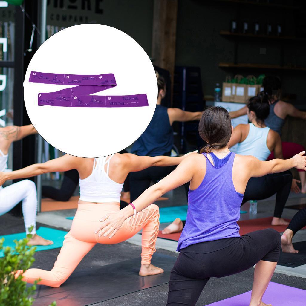 miniatura 18 - Pulsera stretch elástica bailar banda pilates Dance pierna prolongar camilla
