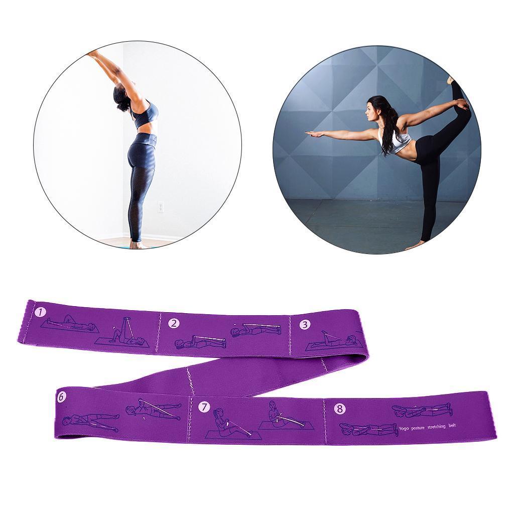miniatura 21 - Pulsera stretch elástica bailar banda pilates Dance pierna prolongar camilla