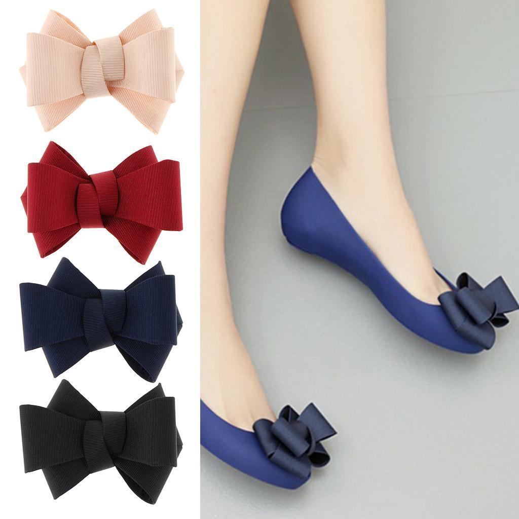 1pc Plain Shoe Clips Ladies Bridal Shoes Buckle Clip Party Shoe Charms