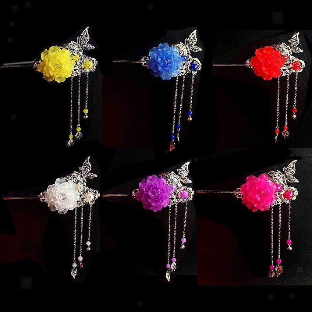 miniatura 11 - Bastoni Cinesi Accessori dei Capelli Capricapi Spilla Gioielli di Donne Ragazze
