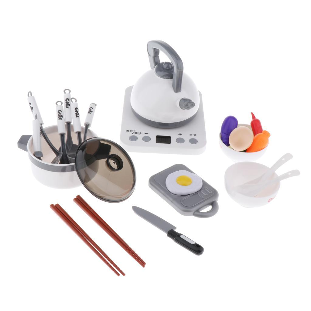 Kitchen-Pretend-Play-Accessories-Toys-Cookware-Set-Cooking-Utensils-for-Kids thumbnail 3