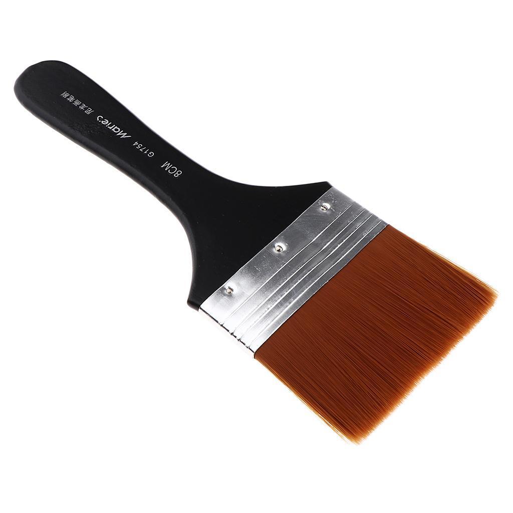 Indexbild 19 - Nylon-Pinsel-lachpinsel-Olmalpinsel-Malen-Pinsel-fuer-Leinwand-Lacke-Acryl