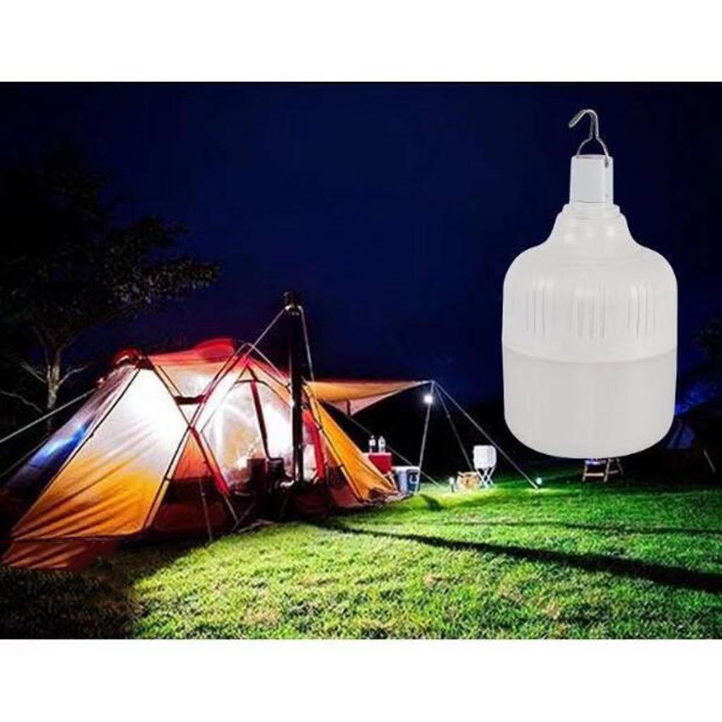 miniatura 10 - LED Da Campeggio Lampadina USB Ricaricabile Di Emergenza Tenda Lampada A
