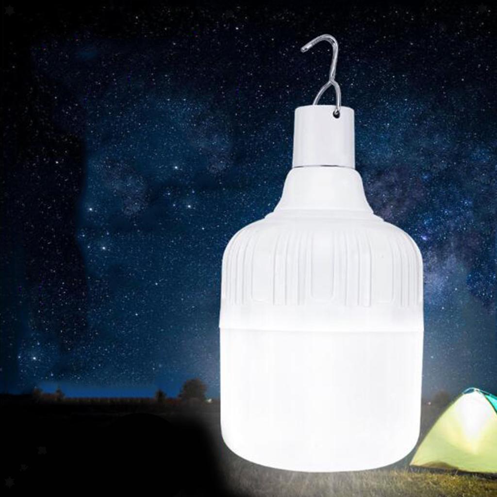 miniatura 3 - LED Da Campeggio Lampadina USB Ricaricabile Di Emergenza Tenda Lampada A