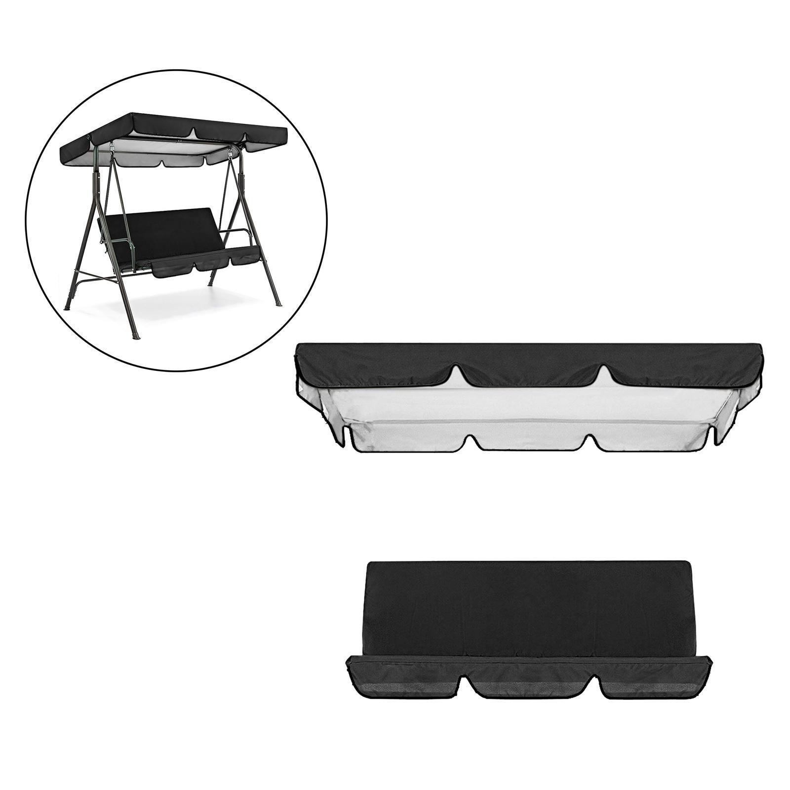 miniatura 54 - Sostituzione della copertura della sedia a dondolo da esterno per patio,