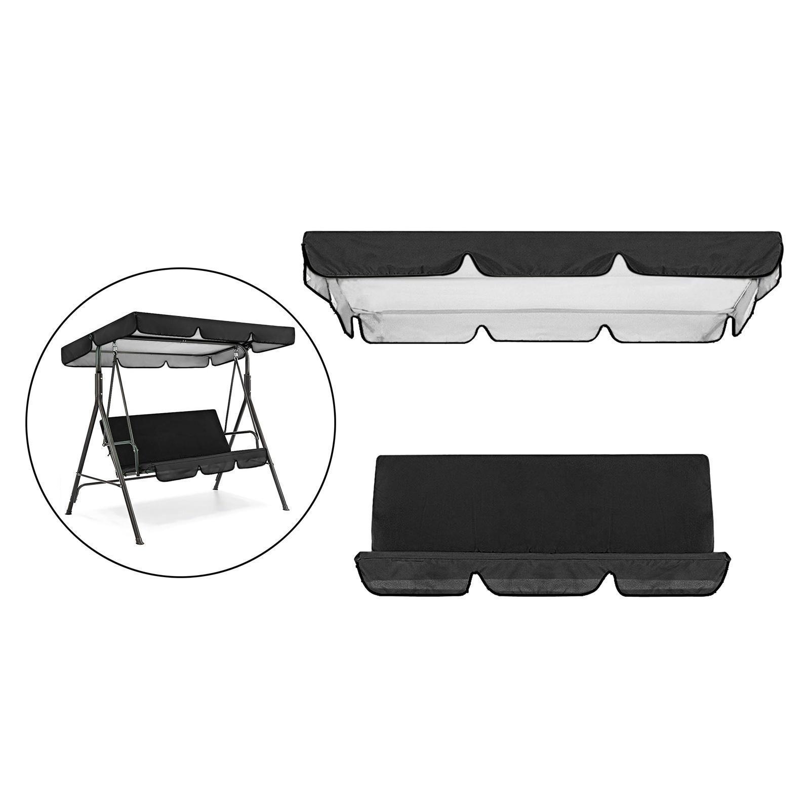 miniatura 51 - Sostituzione della copertura della sedia a dondolo da esterno per patio,