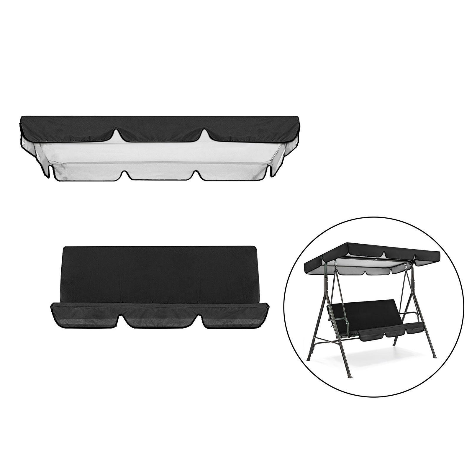 miniatura 48 - Sostituzione della copertura della sedia a dondolo da esterno per patio,